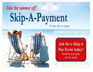 Summer Skip A Pay